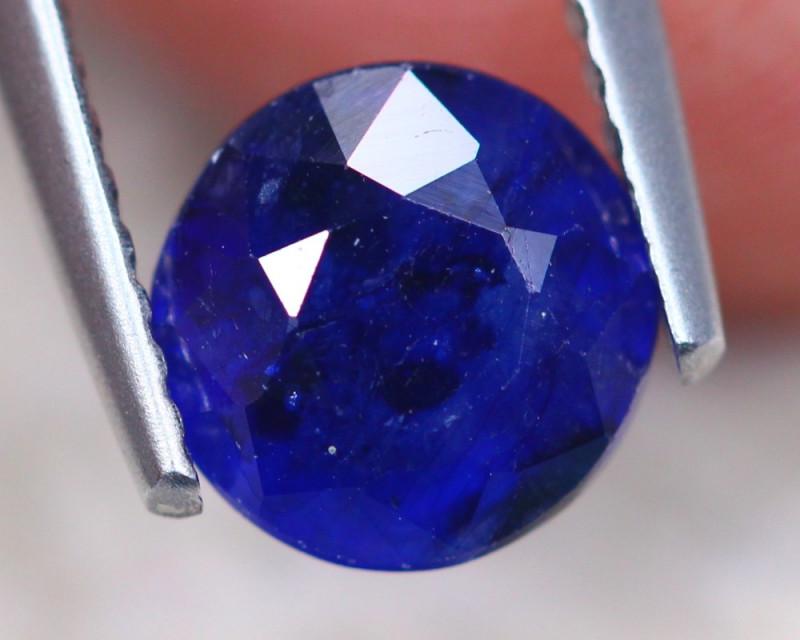 1.93Ct Ceylon Blue Sapphire Round Cut Lot LZ7505