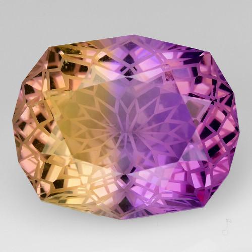 11.07 Cts Bolivian Ametrine Stunning Luster & Cut Gemstone  AMT8