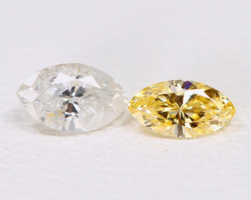 Diamond 0.15Ct Natural Untreated Genuine Fancy Diamond B472