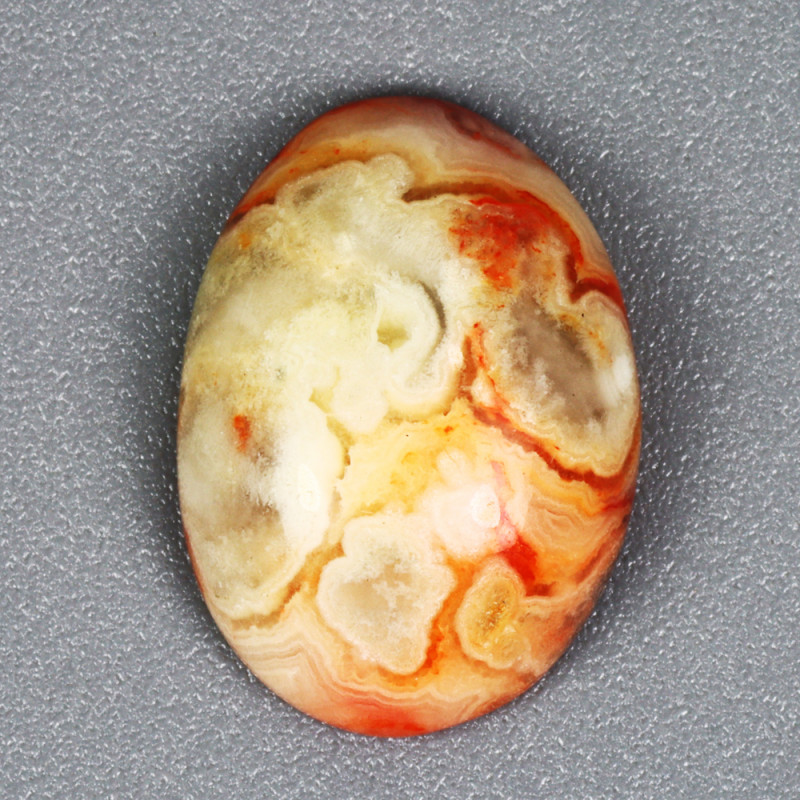 4.375 CT JASPER NOREENA PATTEN 100% NATURAL UNHEATED