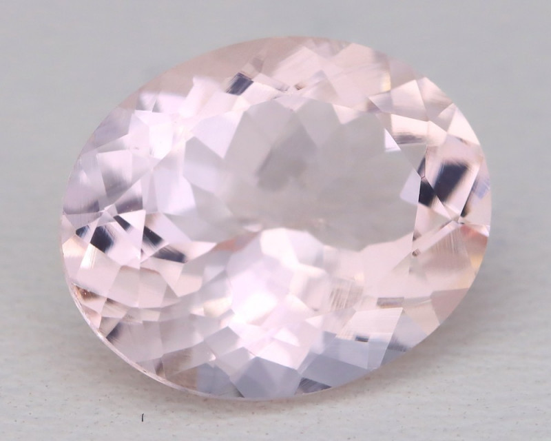 4.08Ct Natural Sweet Pink Morganite VVS Pink Beryl Madagascar B1204