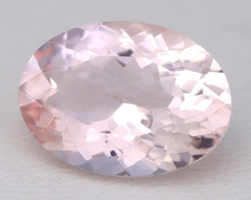 4.94Ct Natural Sweet Pink Morganite VVS Pink Beryl Madagascar C1218