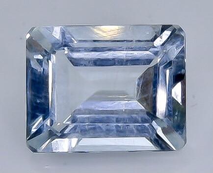 2.89 Crt  Aquamarine Faceted Gemstone (Rk-75)