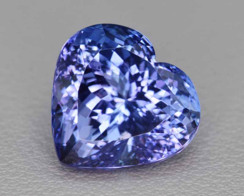 Natural Tanzanite 11.41 Cts Top Grade  Faceted Gemstone