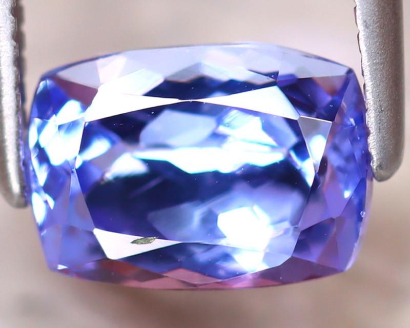 Tanzanite 1.55Ct Natural VVS Purplish Blue Tanzanite D2216/D3