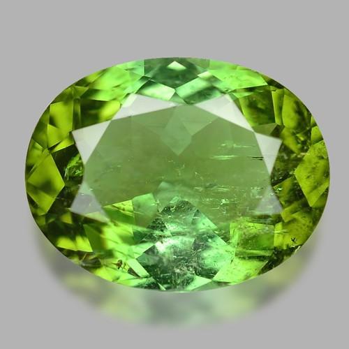 Tourmaline 4.10 Cts Natural Green Loose Gemstone
