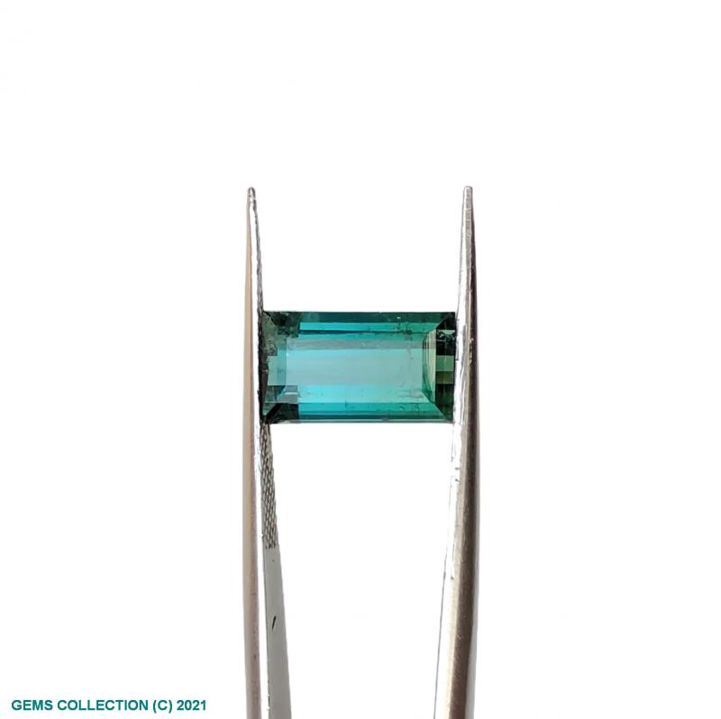 VS Bi Color Tourmaline Cut Stone