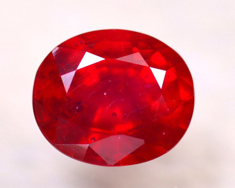 Ruby 6.22Ct Madagascar Blood Red Ruby E2505/A20