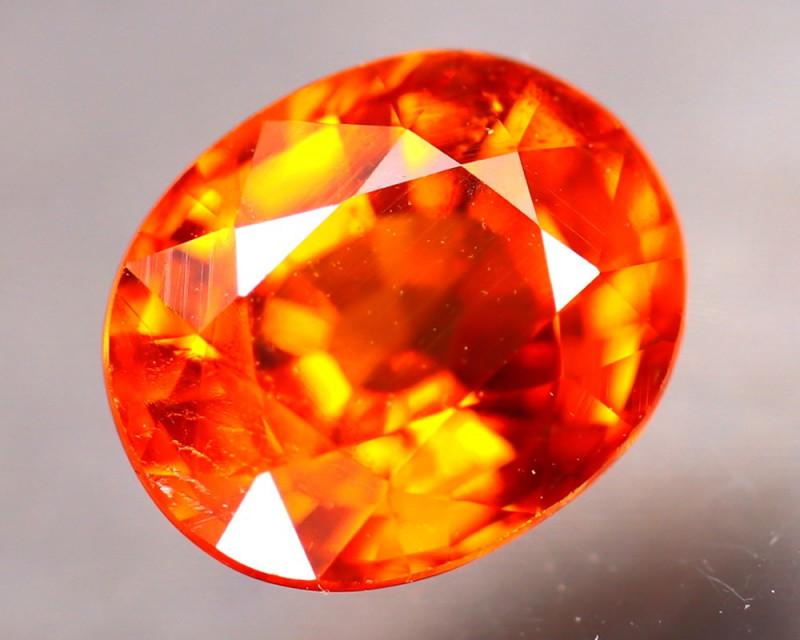 Spessartite Garnet 1.48Ct Natural Orange Spessartite Garnet E2509/B34