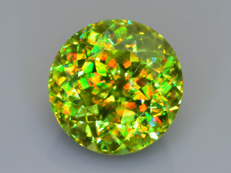 Rare AAA Fire 8.14 ct Sphene Sku-78