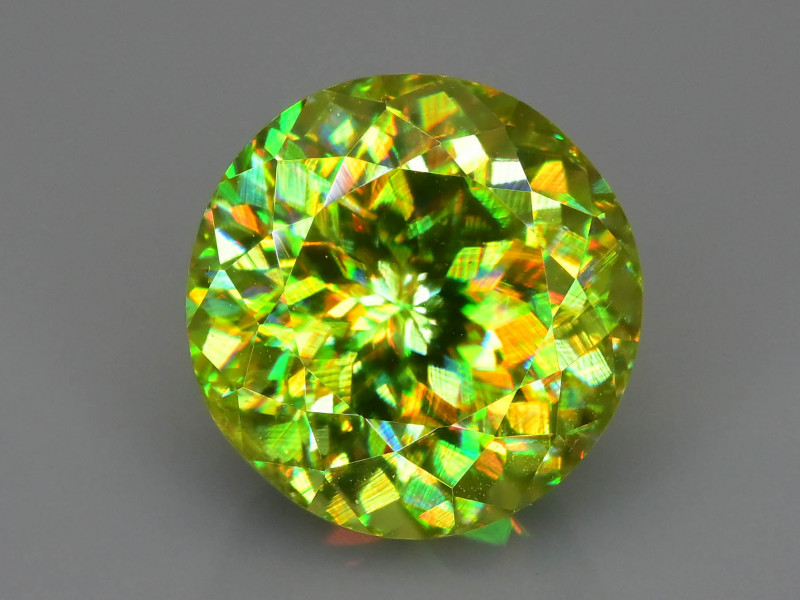 Sphene Rare AAA Fire 3.81 ct Madagascar Mine Sku-78