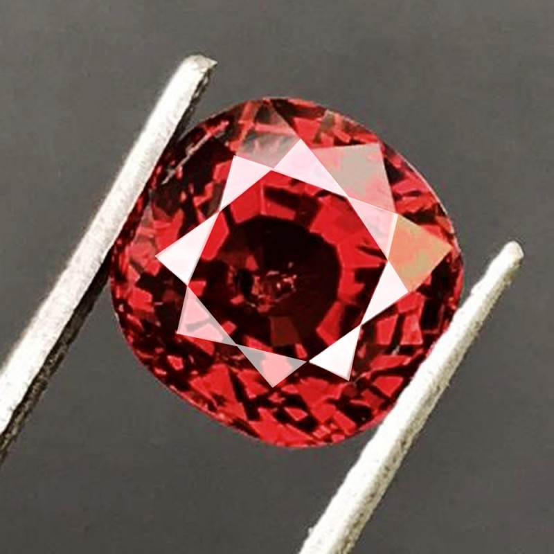 4.01 CT SPINEL BLOOD RED 100% NATURAL UNHEATED BURMESE
