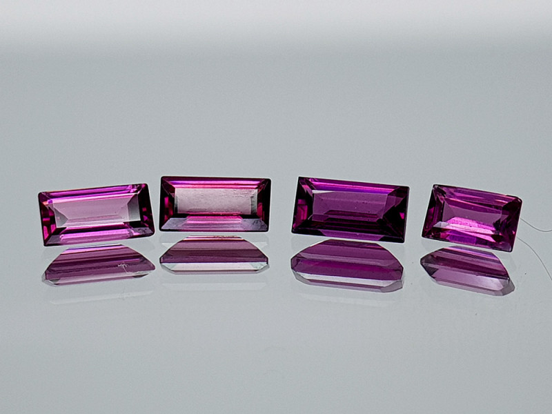 1.90Crt Grape Garnet Lot Natural Gemstones JI09