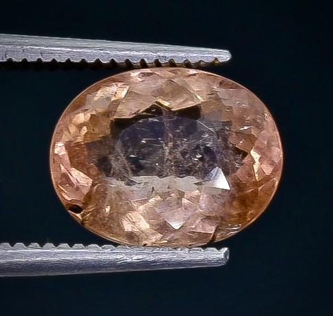 3.16 Crt Tourmaline  Faceted Gemstone (Rk-80)