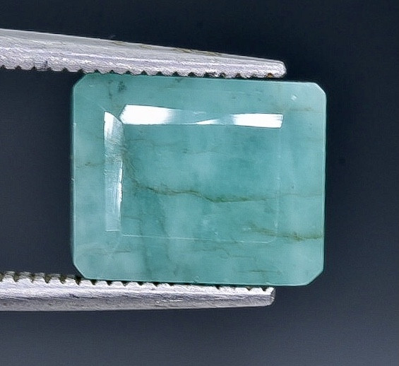 6.22 Crt  Emerald Faceted Gemstone (Rk-80)