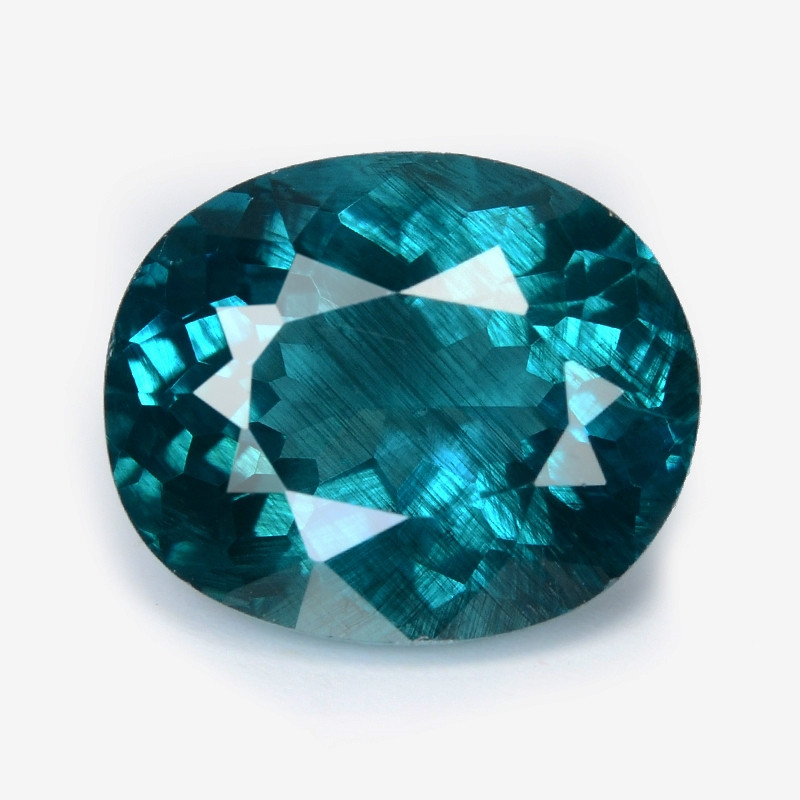 *NoReserve*Green Apatite 5.15 Cts Unheated Natural Gemstone
