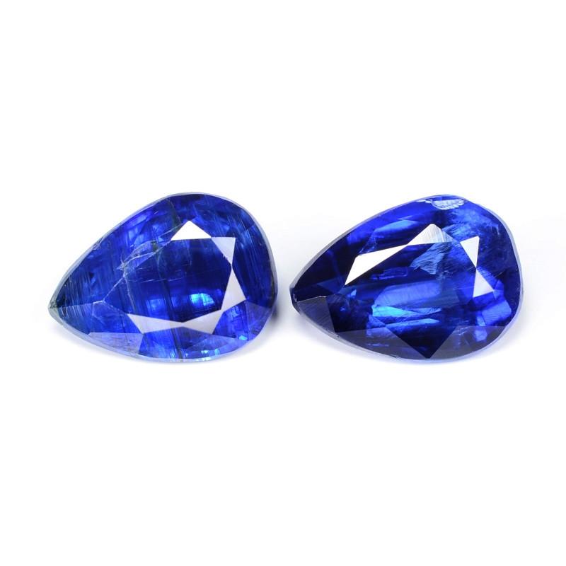*NoReserve*Kyanite 2.51 Cts 2 Pcs Royal Blue Color Natural Gemstone
