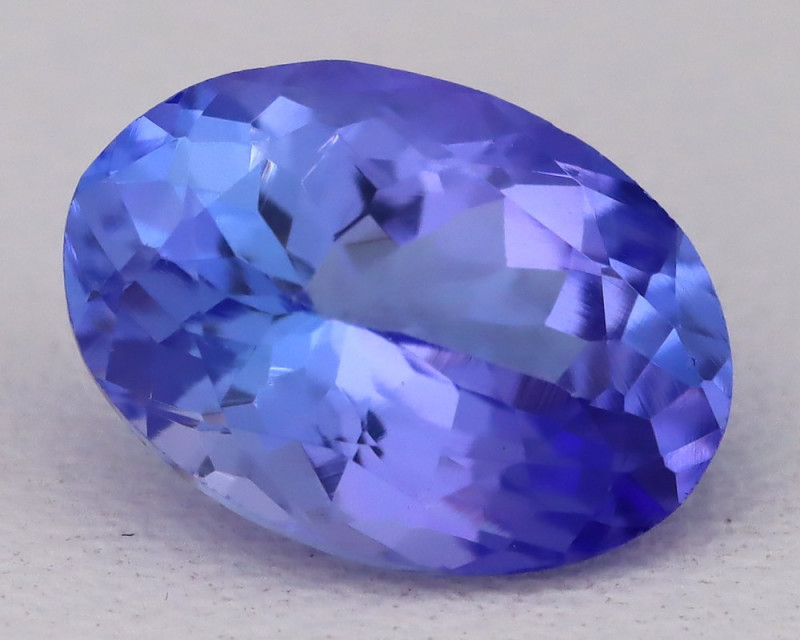 Tanzanite 2.19Ct VVS Flawless Oval Master Cut Vivid Blue Tanzanite B2409