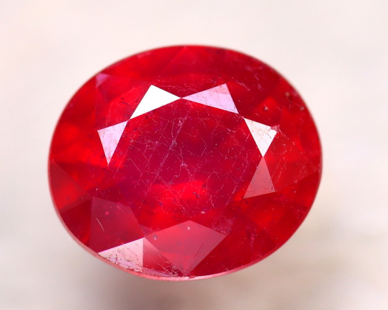 Ruby 5.60Ct Madagascar Blood Red Ruby D0209/A20