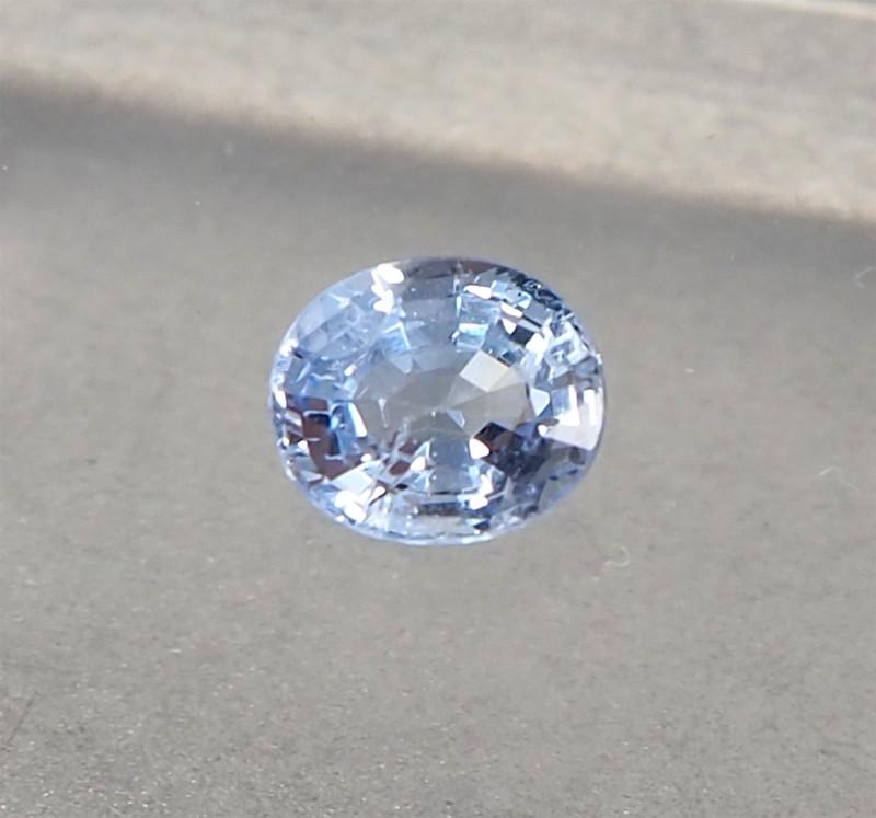 1.22ct unheated blue sapphire