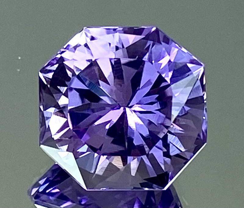 6.87Ct Amethyst Excellent Amazing Cut Top Quality Gemstone.ATF 69