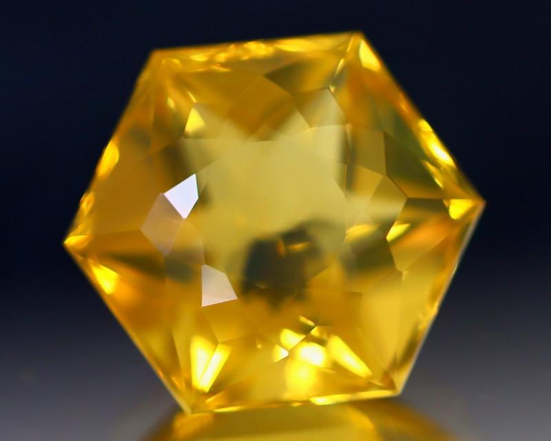 9.34Ct Fire Opal Precision Cut Ethiopian Crystal Flash Fire Opal C0101