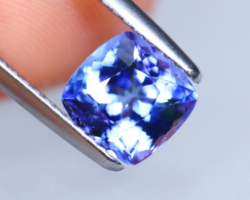 1.56cts Natural D Block TOP Violet Blue Tanzanite / KL1089