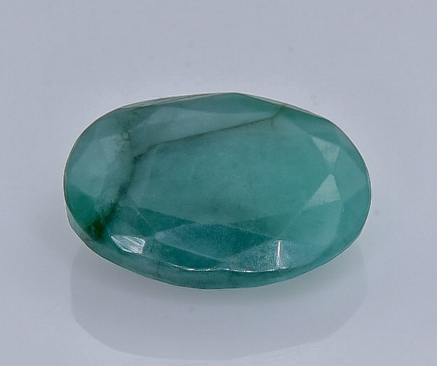 4.51 Crt Natural Emerald Faceted Gemstone.( AB 9)