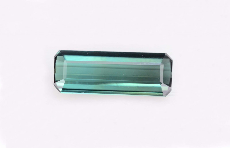 AAA Grade 1.70 ct Natural Greenish Blue Tourmaline