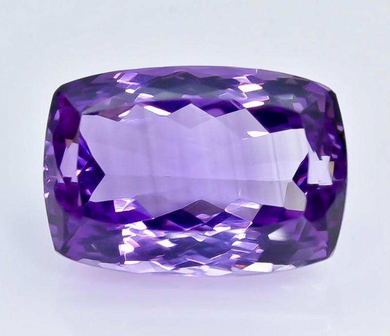 21.58 Crt  Amethyst Faceted Gemstone (Rk-84)