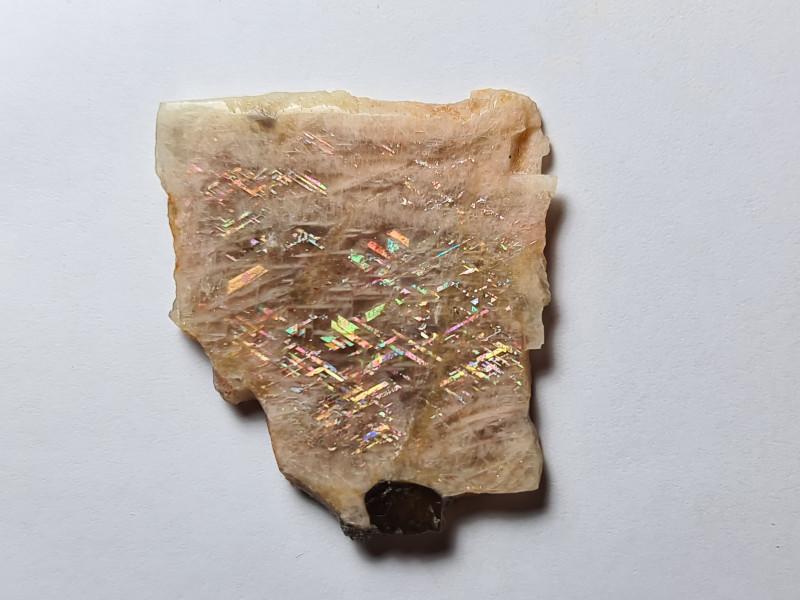 Beautiful Rainbow Lattice Sunstone Specimen 91.25 carats