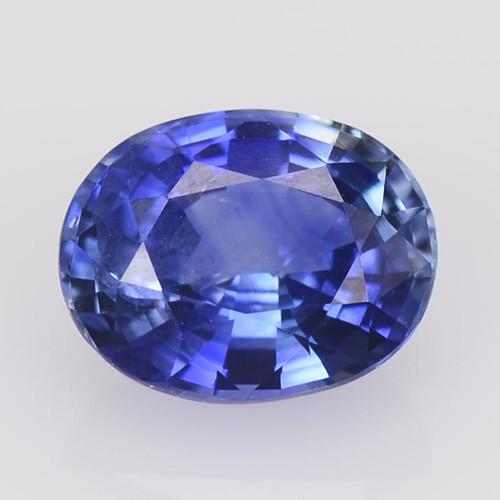 Ceylon Sapphire 1.49 Cts Amazing Rare Natural Fancy Royal Blue Loose Gemsto