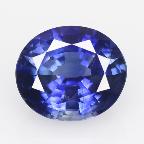 Ceylon Sapphire 1.36 Cts Amazing Rare Natural Fancy Royal Blue Loose Gemsto
