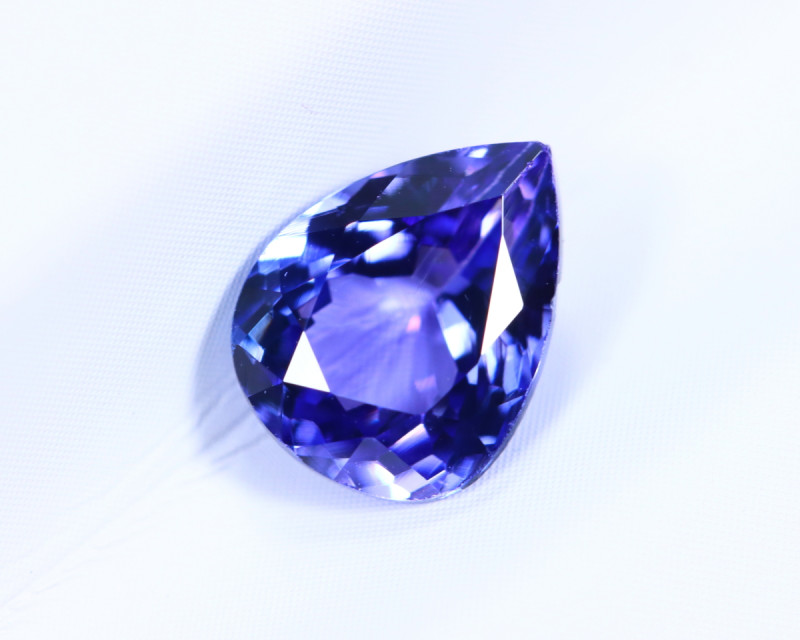 1.48cts Natural D Block TOP Violet Blue Tanzanite / KL1105