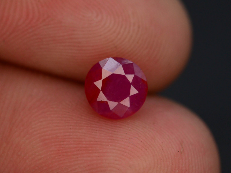 1.15  cts Natural Red Color Ruby - Mozambique