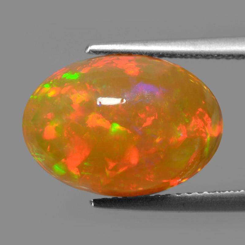 Welo Opal 6.88 Cts Very Rare Unheated Natural Gemstone