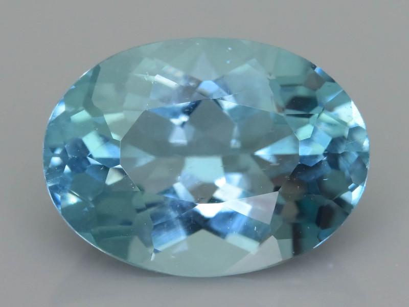 Rare 3.52 ct Amazing Luster Blue Apatite SKU.19