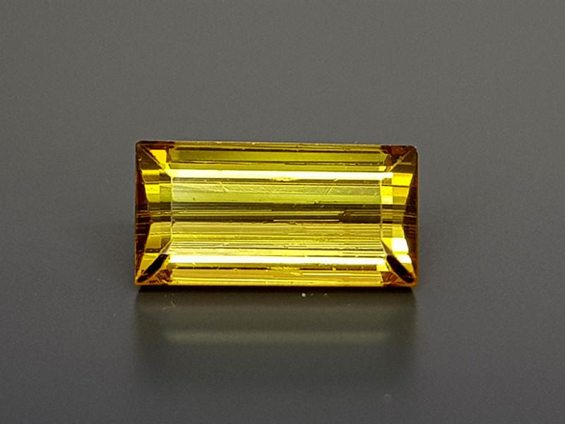 1.35Crt Yellow Tourmaline Natural Gemstones JI14