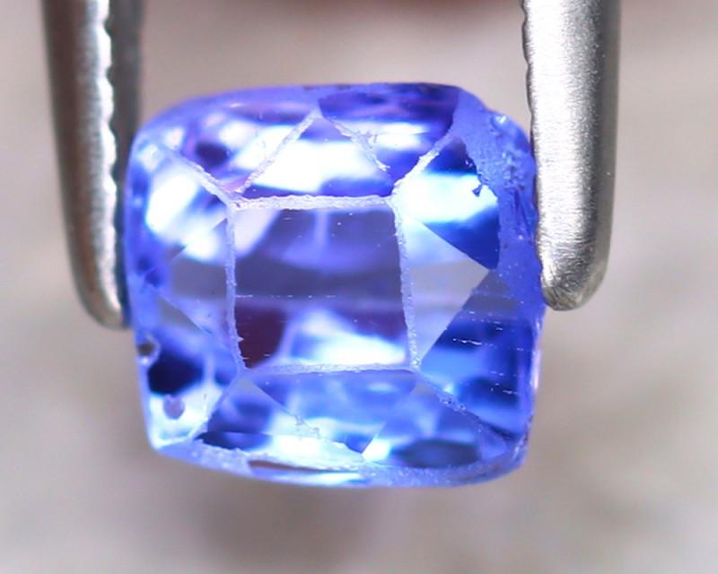 Tanzanite 1.05Ct Natural Purplish Blue Tanzanite E0912/D3