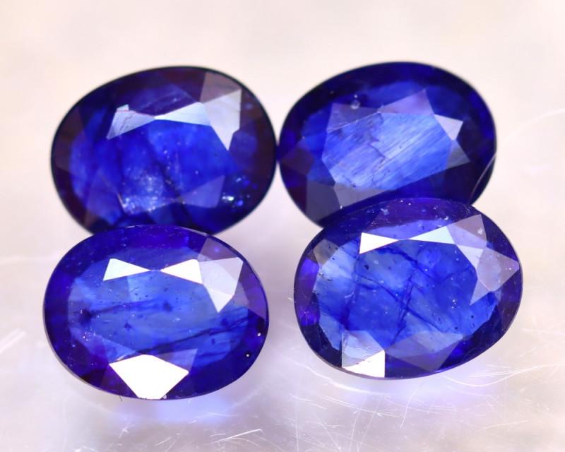 Ceylon Sapphire 7.78Ct 4Pcs Royal Blue Sapphire EN131/A23