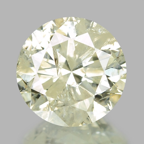 1.01 Cts Untreated Yellowish White Color Natural Loose Diamond