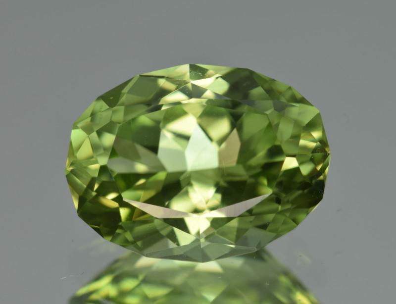 Natural Himalayan Peridot 5.08 Cts Precision Cut Gemstone