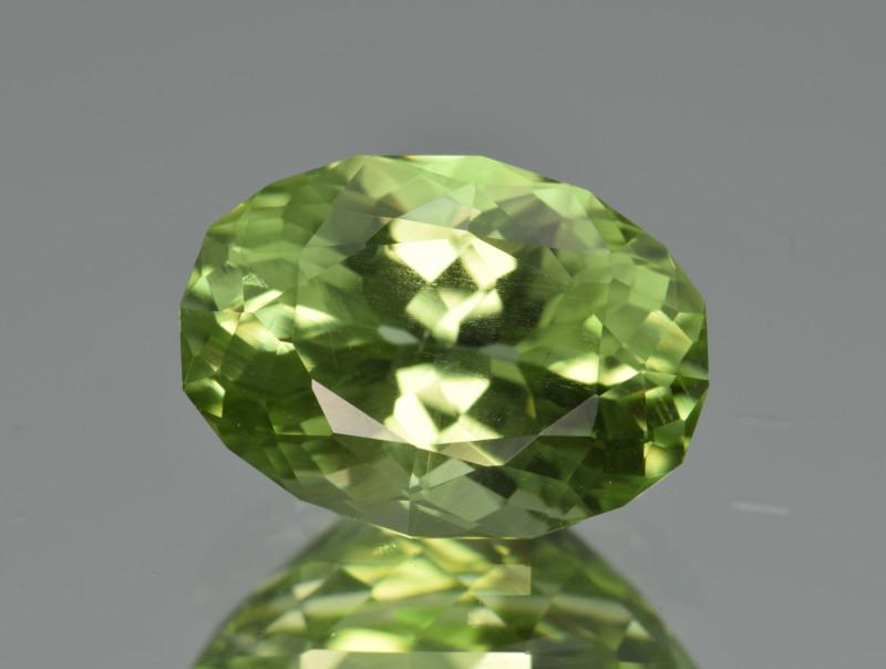 Natural Himalayan Peridot 5.13 Cts Precision Cut Gemstone