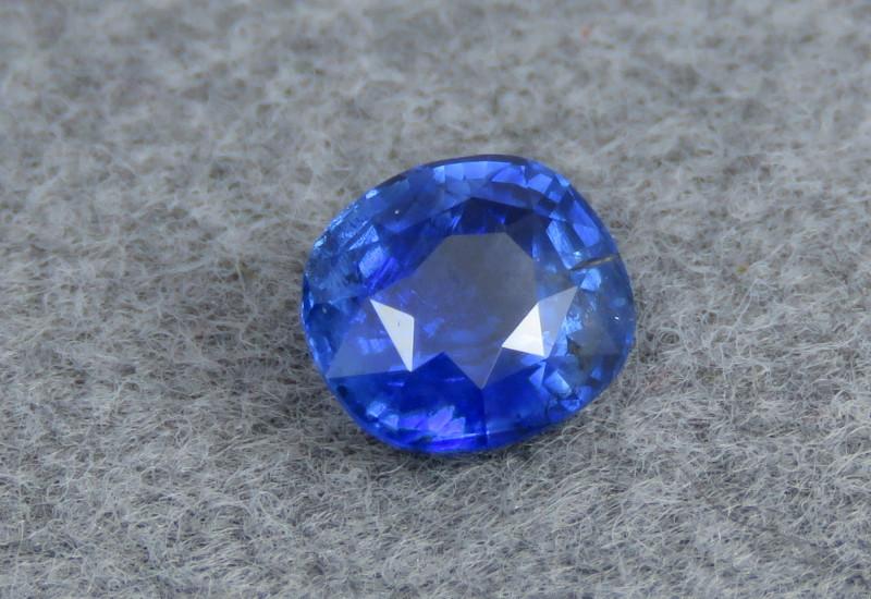 VS 1.20 Cts Beautiful Color Oval Shape Ceylon Blue Sapphire From Sri Lanka