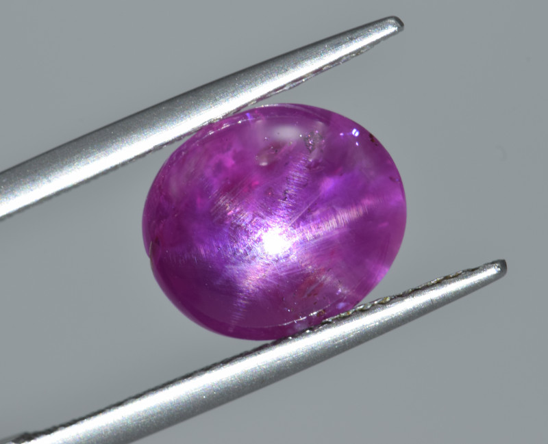 Natural Hot Pink Star Sapphire 5.83 Cts from Burma