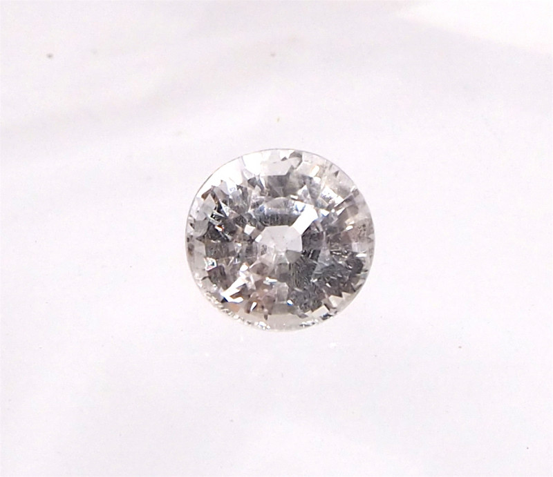 1.99ct unheated white sapphire