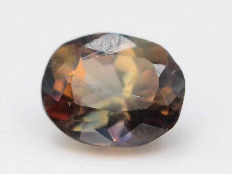 Rare 0.50 ct Multicolor Natural Axinite ~