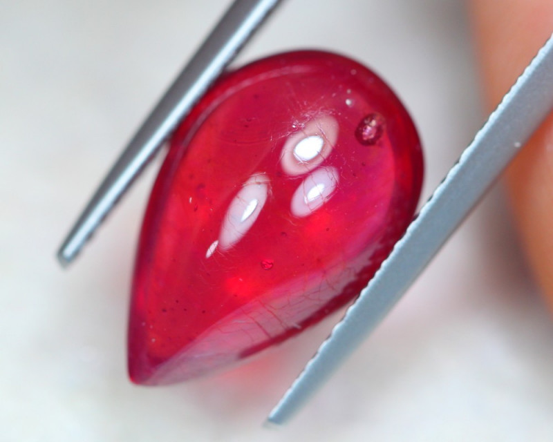 6.72ct Mozambique Ruby Cabochon Lot GW8363