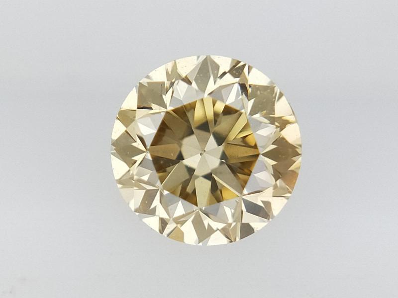 0.25 CTS , Round Brilliant Cut , Light Colored Diamond