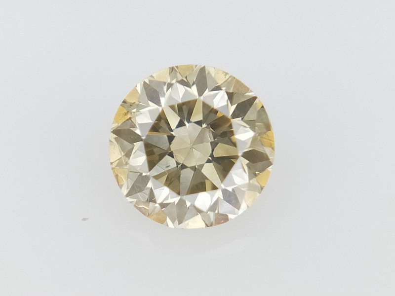 0.25 CTS , Round Brilliant Cut , Light Colored Diamond